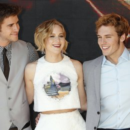Liam Hemsworth / Jennifer Lawrence / Sam Claflin / 67. Internationale Filmfestspiele von Cannes 2014 Poster