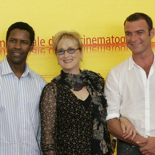 Filmfestspiele Venedig 2004 / Denzel Washington / Meryl Streep / Liev Schreiber / Manchurian Candidate, The