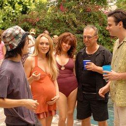 (K)Ein bisschen schwanger / Lindsay Lohan Poster