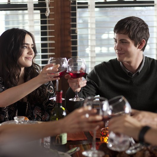 Stuck in Love / Lily Collins / Logan Lerman Poster