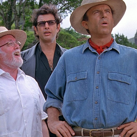 Jurassic Park 3D / Lord Richard Attenborough / Jeff Goldblum Poster