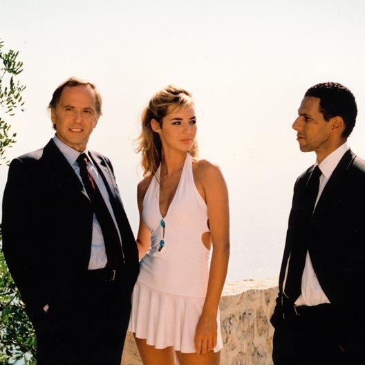 Mädchen aus Monaco, Das / Fabrice Luchini / Louise Bourgoin / Roschdy Zem Poster