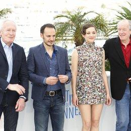 Jean-Pierre Dardenne / Fabrizio Rongione / Marion Cotillard / Luc Dardenne / 67. Internationale Filmfestspiele von Cannes 2014 Poster