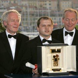 "Porumboiu, Corneliu ""Camera D'Or"", mit Jean-Pierre und Luc Dardenne / 59. Filmfestival Cannes 2006 Poster"