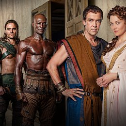 Spartacus: Gods of the Arena / Peter Mensah / John Hannah / Dustin Clare / Lucy Lawless Poster