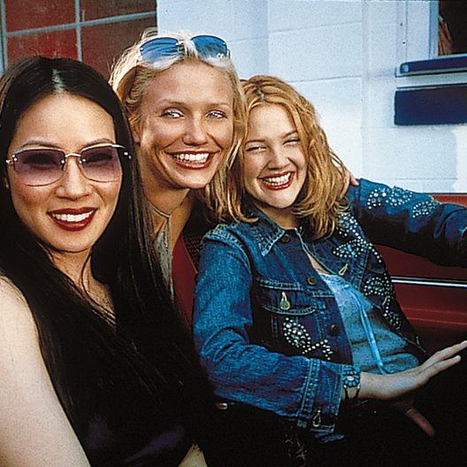 3 Engel für Charlie / Lucy Liu / Cameron Diaz / Drew Barrymore Poster