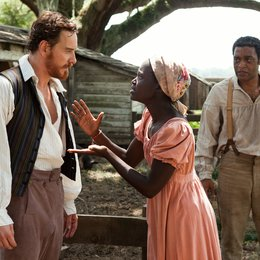 12 Years a Slave / Michael Fassbender / Lupita Nyong'o / Chiwetel Ejiofor Poster