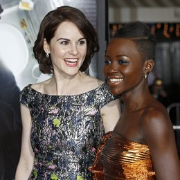 "Michelle Dockery / Lupita Nyong'o / Filmpremiere ""Non-Stop"" Poster"