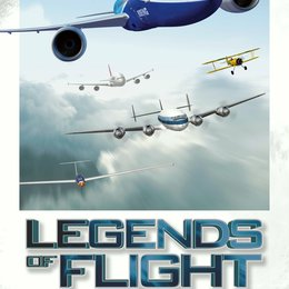Legenden der Luftfahrt 3D / Legends of Flight 3D Poster