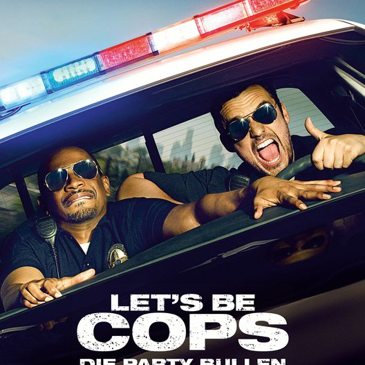Let's Be Cops - Die Party Bullen Poster