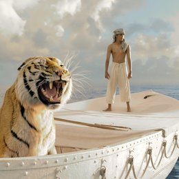 Life of Pi - Schiffbruch mit Tiger / Life of Pi: Schiffbruch mit Tiger / Schiffbruch mit Tiger / Suraj Sharama Poster