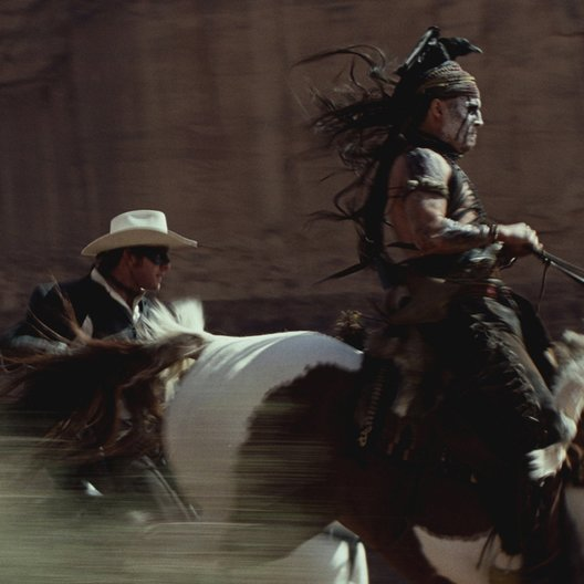 Lone Ranger, The Poster
