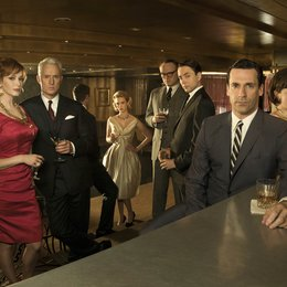 Mad Men - Season Four / Christina Hendricks / John Slattery / January Jones / Vincent Kartheiser / Jon Hamm / Elisabeth Moss Poster