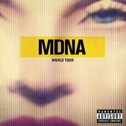 Madonna - MDNA World Tour Poster