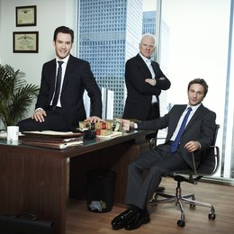 Franklin & Bash / Mark Paul Gosselaar / Malcolm McDowell / Breckin Meyer Poster
