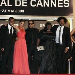 Patton, Paula / Kravitz, Lenny / Sidibe, Gabourey / Daniels, Lee / Carey, Mariah / 62. Filmfestival Cannes 2009 / Festival International du Film de Cannes Poster