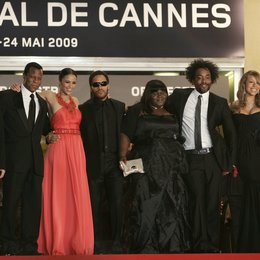 Patton, Paula / Kravitz, Lenny / Sidibe, Gabourey / Daniels, Lee / Carey, Mariah / 62. Filmfestival Cannes 2009 / Festival International du Film de Cannes Poster