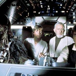 Star Wars / Krieg der Sterne / Harrison Ford / Mark Hamill / Alec Guinness / Star Wars: Complete Saga I-VI Poster