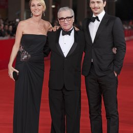 Frida Giannini / Martin Scorsese / James Franco / 5. Filmfest Rom 2010 Poster