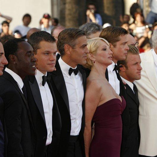 Cheadle, Don / Damon, Matt / Clooney, George / Pitt, Brad / 60. Filmfestival Cannes 2007