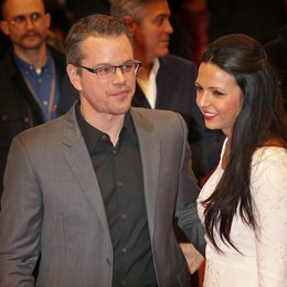 Damon, Matt / Barroso, Luciana / 64. Berlinale 2014