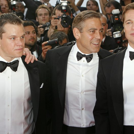 Damon, Matt / Clooney, George / Pitt, Brad / 60. Filmfestival Cannes 2007