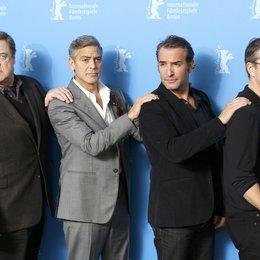 Goodman, John / Clooney, George / Dujardin, Jean / Damon, Matt / 64. Berlinale 2014