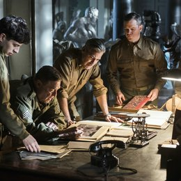 Monuments Men - Ungewöhnliche Helden / Dimitri Leonidas / John Goodman / George Clooney / Matt Damon / Bob Balaban