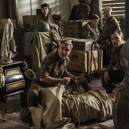 Monuments Men - Ungewöhnliche Helden / Monuments Men / Dimitri Leonidas / George Clooney / John Goodman / Bob Balaban / Matt Damon Poster