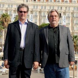 MIPCOM 2009 in Cannes / TV-Programmmesse / Al Jean und Matt Groening Poster