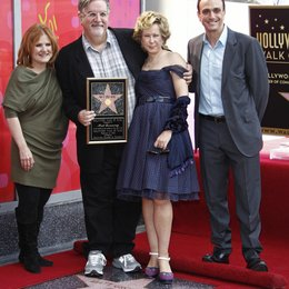 Nancy Cartwright / Matt Groening / Yeardley Smith / Hank Azaria / Matt Groening erhält einen Stern am Hollywood Walk Of Fame Poster