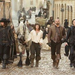 drei Musketiere, Die / Matthew Macfadyen / Logan Lerman / Ray Stevenson / Luke Evans Poster