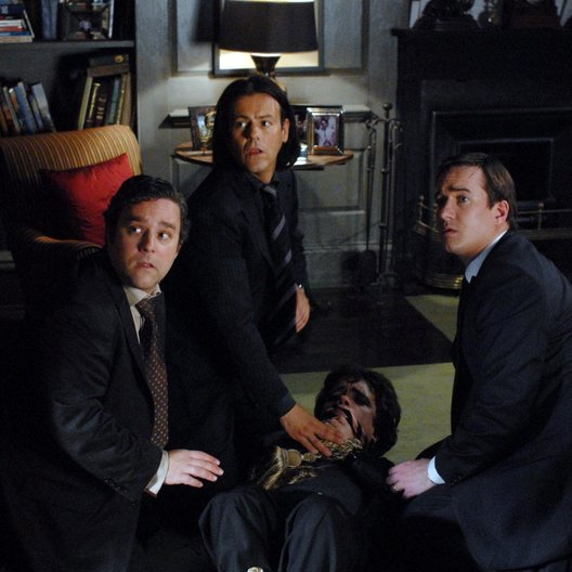 Sterben für Anfänger / Death at a Funeral / Andy Nyman / Rupert Graves / Peter Dinklage / Matthew Macfadyen Poster