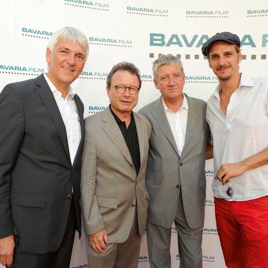 Bavaria-Film-Empfang 2011 / Achim Rohnke / Prof. Dr. Klaus Schaefer / Dr. Matthias Esche / Max von Thun Poster