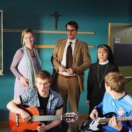 Mongolettes - Wir wollen rocken!, Die (Sat.1) / Gitta Schweighöfer / Max von Thun / Silvina Buchbauer / Benjamin Seidel / Christopher Puttins Poster