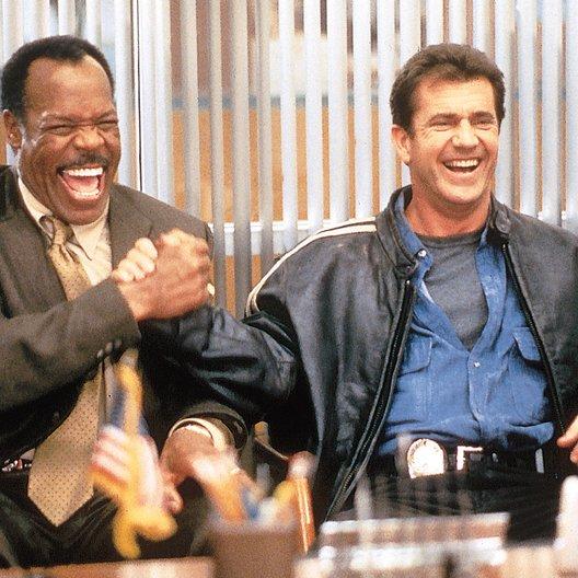 Lethal Weapon 4 - Zwei Profis räumen auf / Danny Glover / Mel Gibson Poster