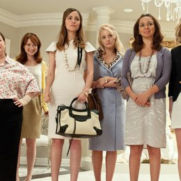 Brautalarm / Melissa McCarthy / Ellie Kemper / Rose Byrne / Wendi McLendon-Covey / Maya Rudolph / Kristen Wiig Poster