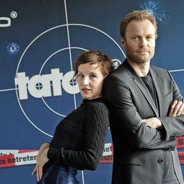 """Meret Becker und Mark Waschke, die neuen """"Tatort""""-Ermittler des RBB, Frau Rubin und Herr Karow Poster"""