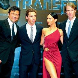 """Deutschlandpremiere von """"Transformers - Die Rache"""" in Berlin / Sven Sturm, Shia LaBeouf, Megan Fox und Michael Bay"""