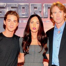 """Deutschlandpremiere von """"Transformers - Die Rache"""" in Berlin / Shia LaBeouf, Megan Fox und Michael Bay"""