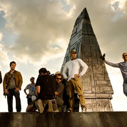 "Transformers: Ära des Untergangs / Set / Jack Reynor / Mark Wahlberg / Casey ""Walrus"" Howard / John Kairis / Lukasz Bielan / Michael Bay / 'Amir Mokri"