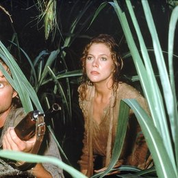 Auf der Jagd nach dem grünen Diamanten / Michael Douglas / Kathleen Turner Poster