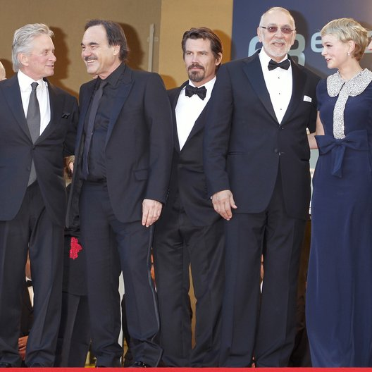 "Filmteam ""Wall Street - Money never sleeps"" / Michael Douglas / Oliver Stone / 63. Filmfestival Cannes 2010"