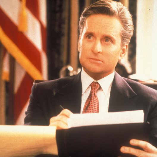 Hallo, Mr. President / Michael Douglas