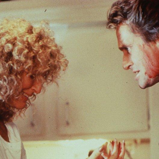 verhängnisvolle Affäre, Eine / Glenn Close / Michael Douglas Poster