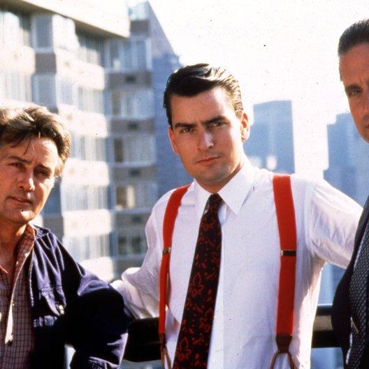 Wall Street / Martin Sheen / Charlie Sheen / Michael Douglas Poster