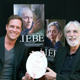"""12. Filmkunstmesse Leipzig / Gilde-Filmpreis für """"Liebe"""" / Felix Bruder und Michael Haneke Poster"""
