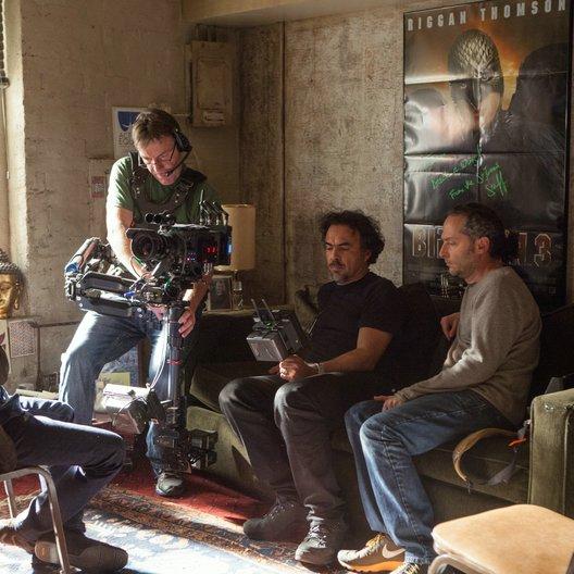 Birdman, oder (die unverhoffte Macht der Ahnungslosigkeit) / Birdman oder (die unverhoffte Macht der Ahnungslosigkeit) / Set / Michael Keaton / Alejandro González Iñárritu Poster