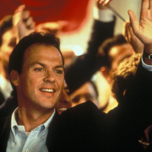 Sprachlos / Michael Keaton Poster