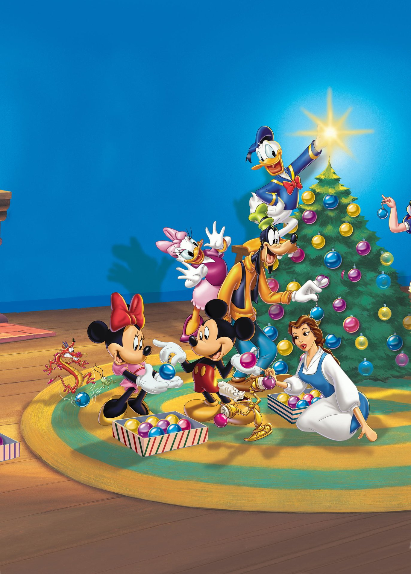 mickeys magical christmas snowed in at the house of mouse